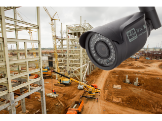 Системы видеонаблюдения на строительных площадках.