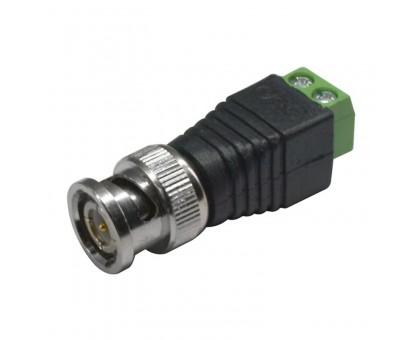 BNC разъем для кабеля под отвертку
